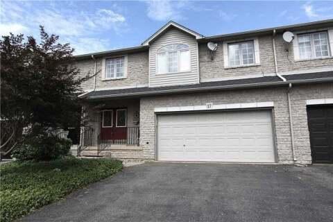 Townhouse for sale at 17 Foxborough Dr Hamilton Ontario - MLS: X4856250