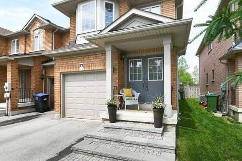 Townhouse for sale at 17 Frank Johnston Rd Caledon Ontario - MLS: W4491926