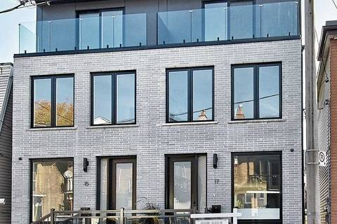Townhouse for sale at 17 Gore St Toronto Ontario - MLS: C4710081