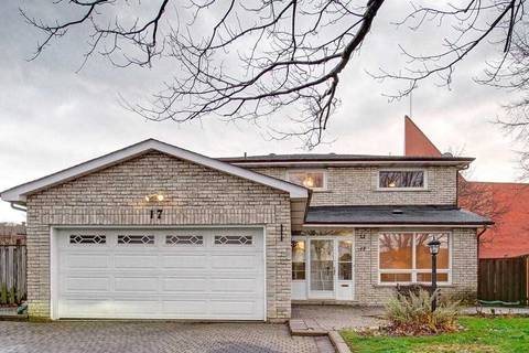 House for sale at 17 Hampstead Ct Markham Ontario - MLS: N4645806