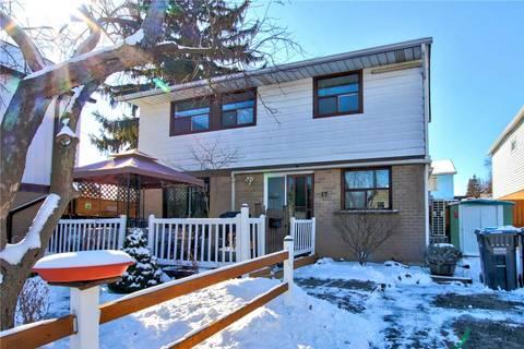 House for sale at 17 Hillpark Tr Brampton Ontario - MLS: W4700477