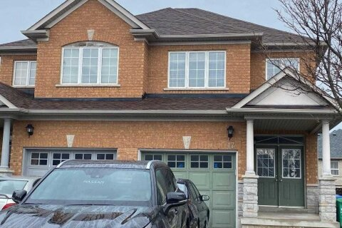 Townhouse for sale at 17 Hot Spring Rd Brampton Ontario - MLS: W5000487