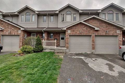 Townhouse for sale at 17 Hyde Rd Stratford Ontario - MLS: X4453162