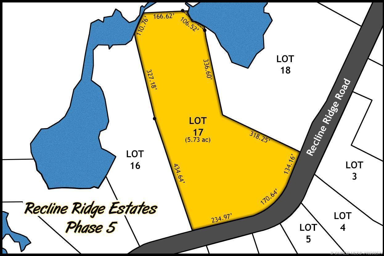 Home for sale at Lot 17 Recline Ridge Rd Unit 17 Tappen British Columbia - MLS: 10200571
