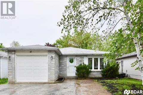 House for sale at 17 Maitland Dr Barrie Ontario - MLS: 30740034