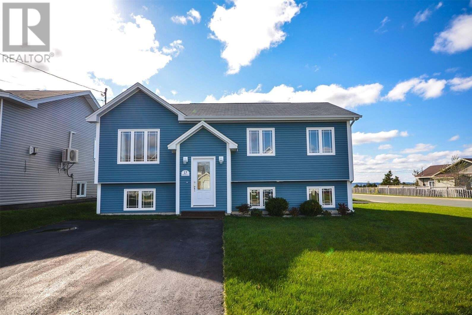 House for sale at 17 Manor Side Pl Conception Bay South Newfoundland - MLS: 1222452