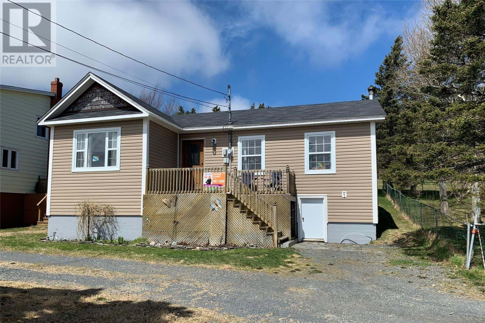 House for sale at 17 Mt. Pleasant Rd Harbour Grace Newfoundland - MLS: 1209835