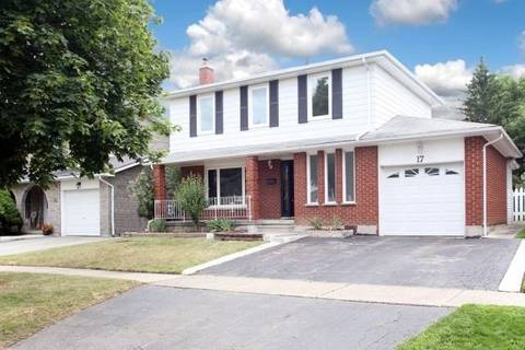 House for sale at 17 Newton Rd Brampton Ontario - MLS: W4556224