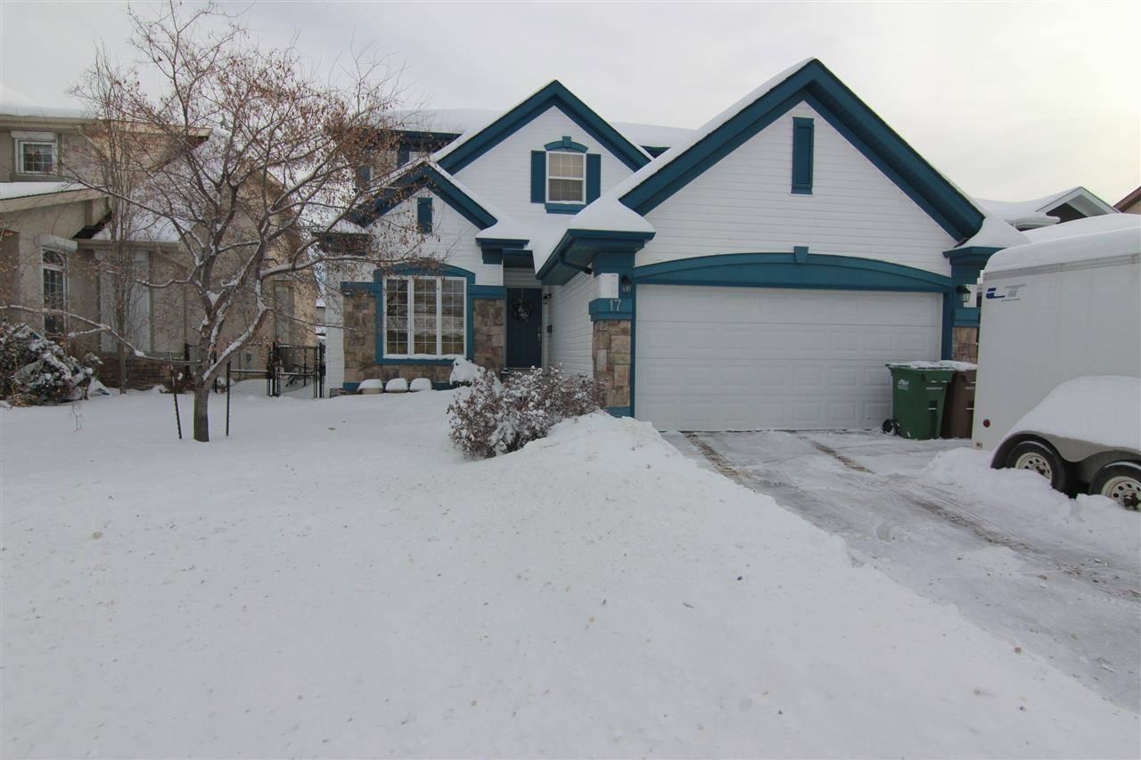 House for sale at 17 Nicola Rd St. Albert Alberta - MLS: E4184960