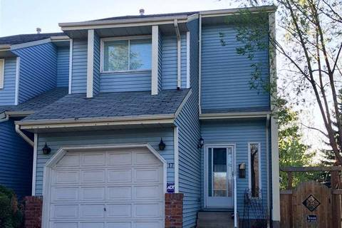 Townhouse for sale at 17 Pineview Dr St. Albert Alberta - MLS: E4156983