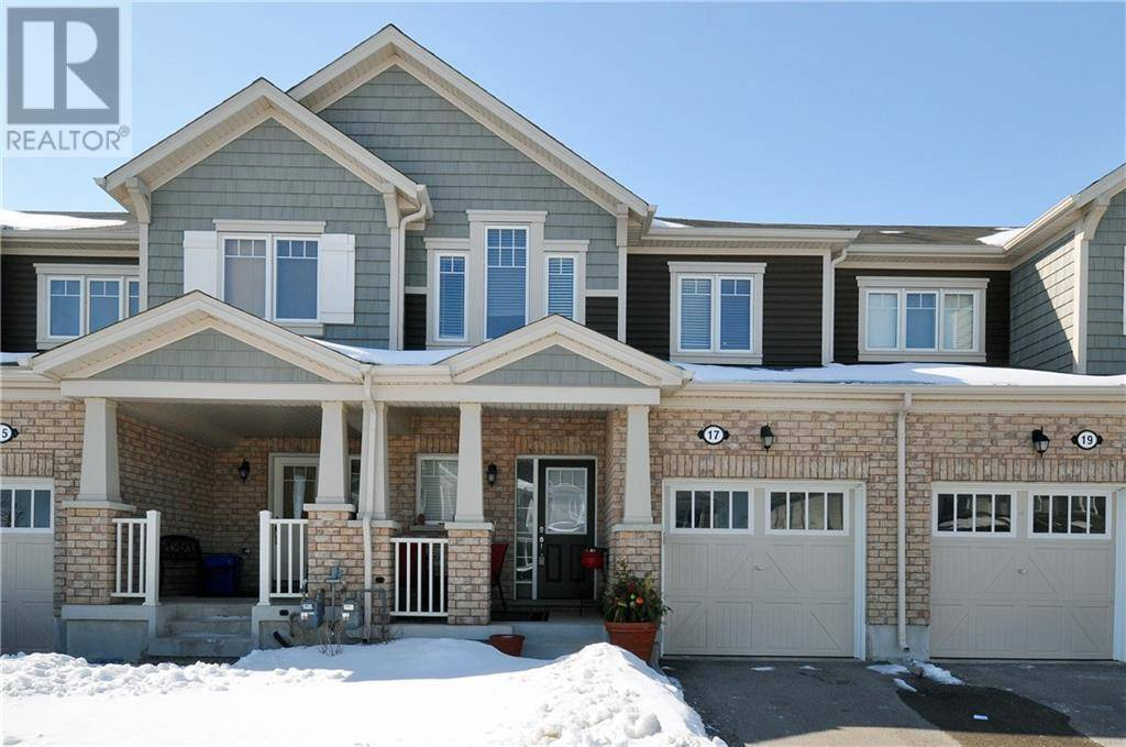 Townhouse for sale at 17 Postmaster Dr Kitchener Ontario - MLS: 30792174