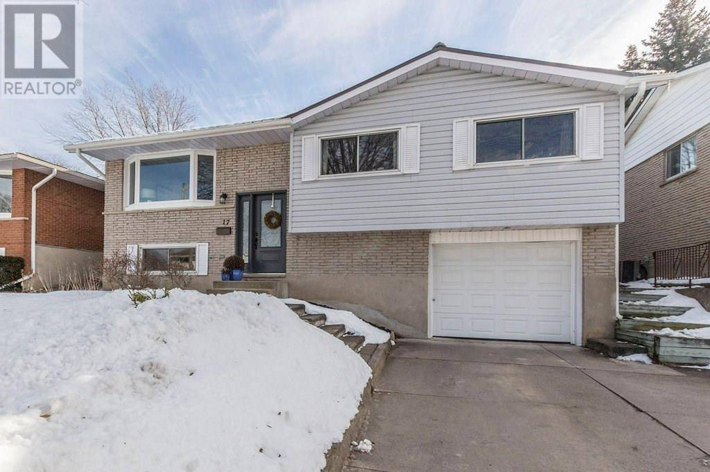 House for sale at 17 Radcliffe Dr Kitchener Ontario - MLS: 30791398