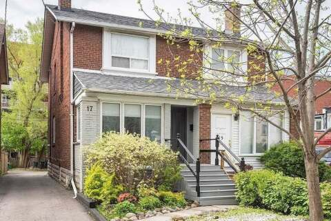 Townhouse for sale at 17 Ranleigh Ave Toronto Ontario - MLS: C4872680