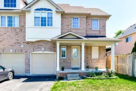 Townhouse for sale at 17 Starfish Ct Brampton Ontario - MLS: W4548982