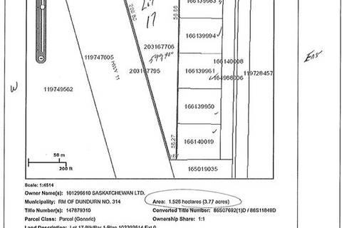 Home for sale at 17 Tamke Rd Dundurn Rm No. 314 Saskatchewan - MLS: SK775880