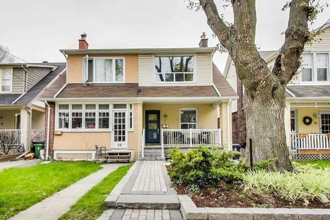 Townhouse for sale at 17 Woodrow Ave Toronto Ontario - MLS: E4456174