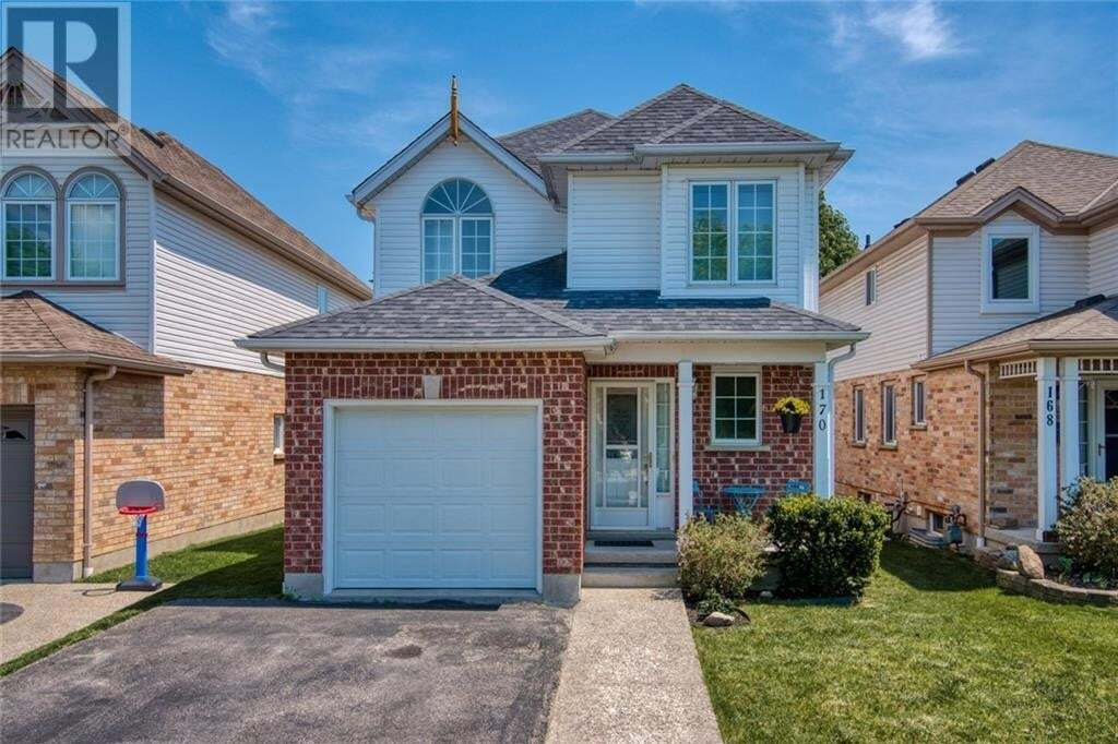 House for sale at 170 Cavelletti Ct Waterloo Ontario - MLS: 30810524