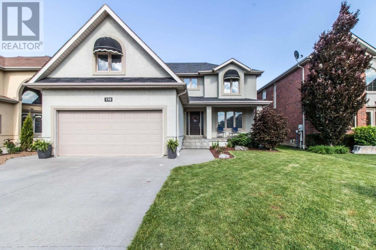 House for sale at 170 Diemer Ct Tecumseh Ontario - MLS: 20007465