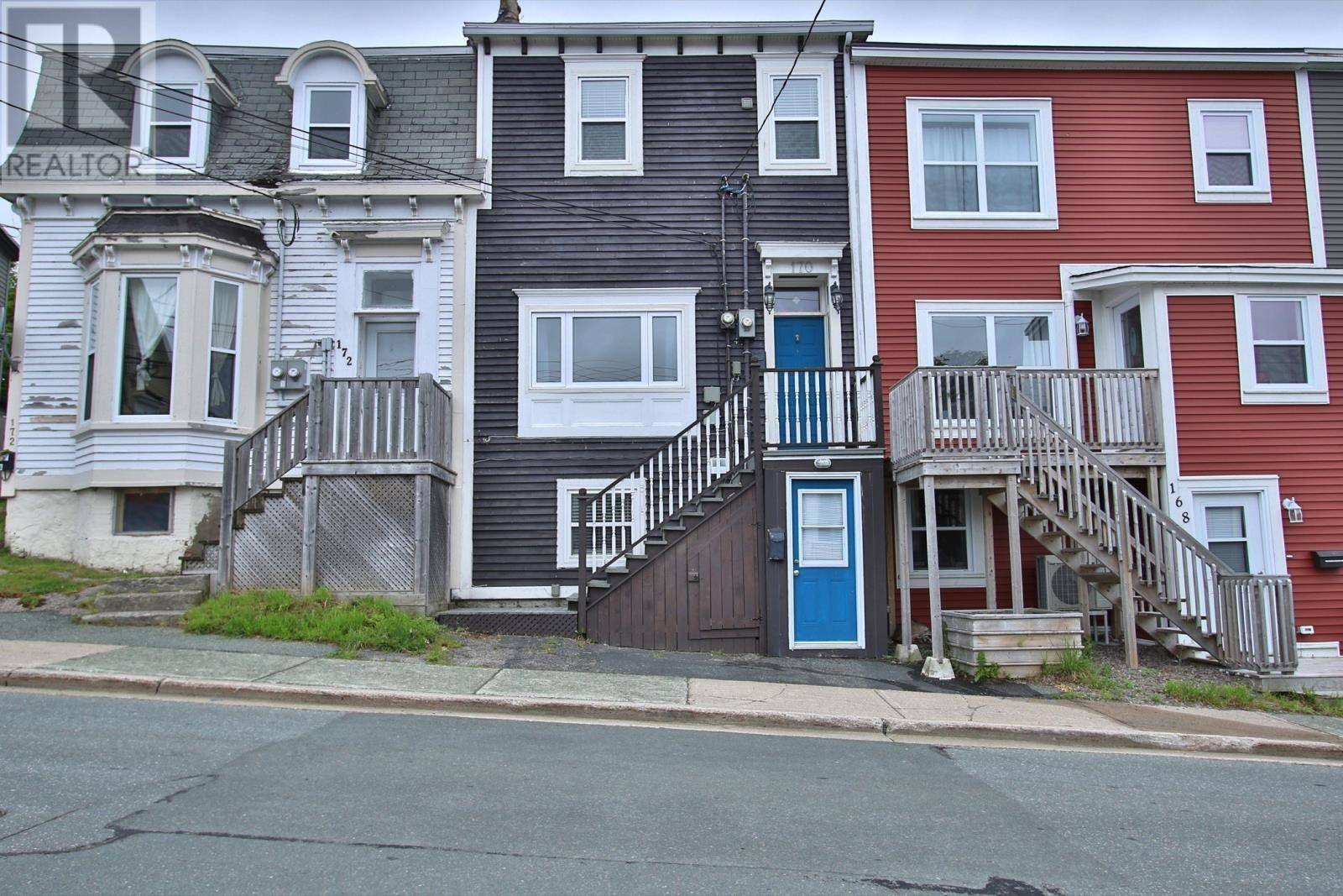 House for sale at 170 Pleasant St St. John's Newfoundland - MLS: 1211256