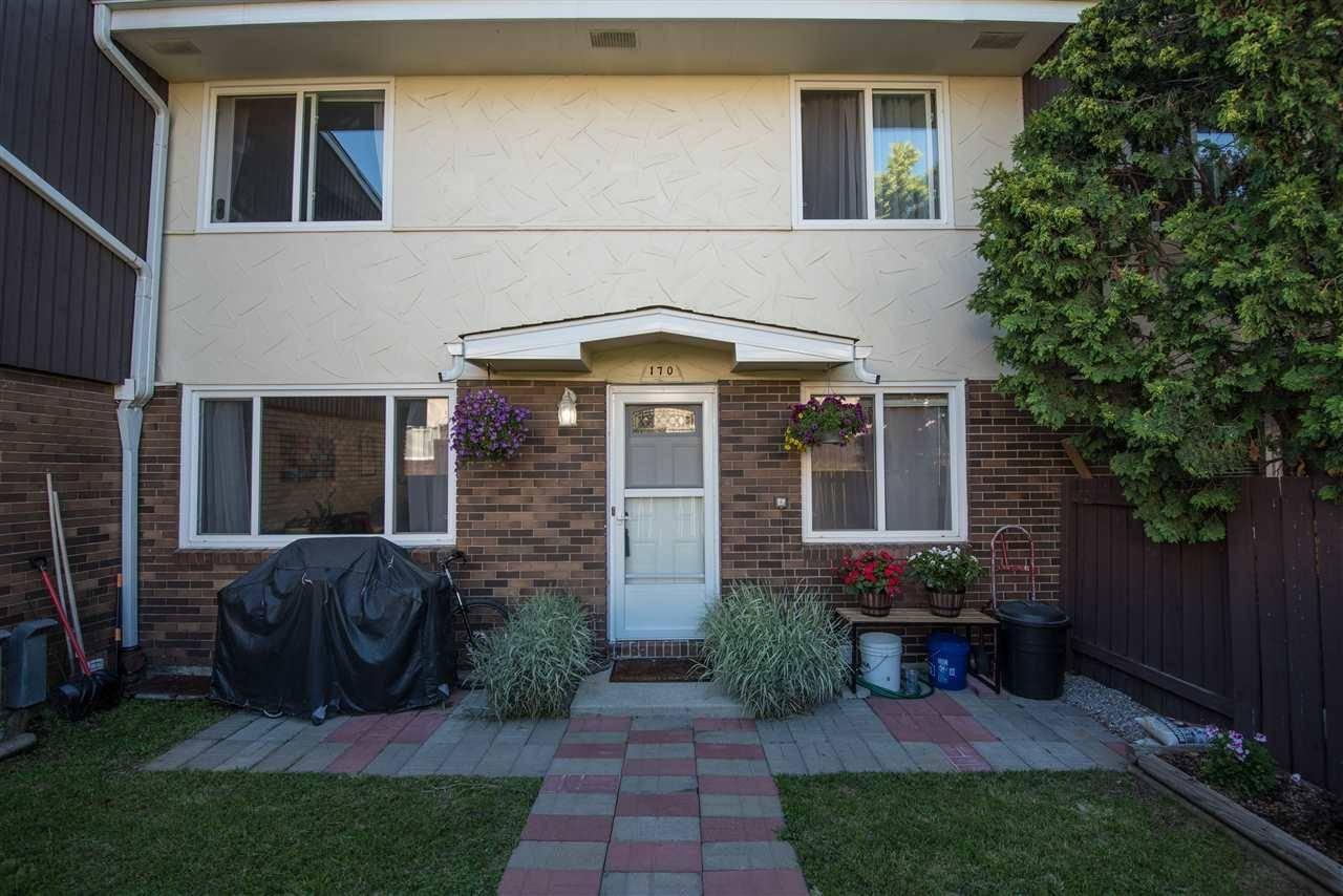 Townhouse for sale at 170 Roseland Vg  Nw Edmonton Alberta - MLS: E4166996