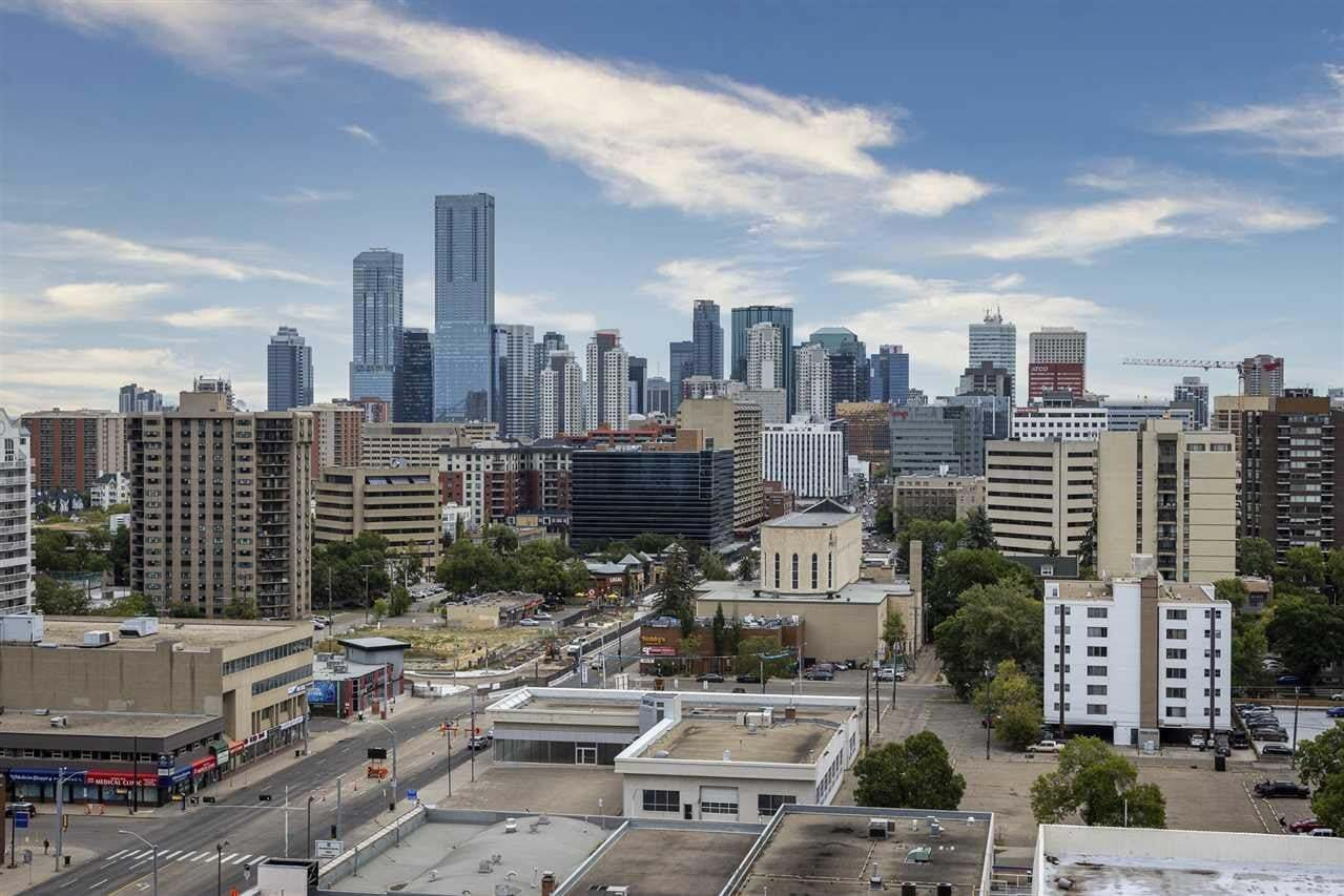 Condo for sale at 10045 117 St NW Unit 1701 Edmonton Alberta - MLS: E4211547