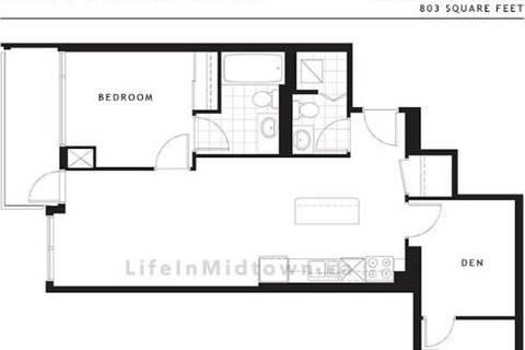 Apartment for rent at 2191 Yonge St Unit 1701 Toronto Ontario - MLS: C4626599