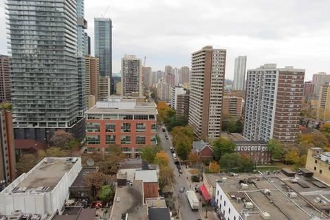 Apartment for rent at 75 St Nicholas St Unit 1701 Toronto Ontario - MLS: C4633757