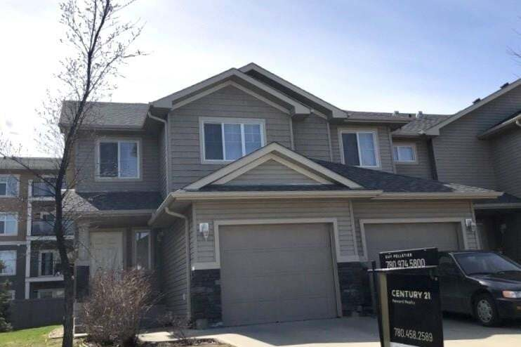 Townhouse for sale at 17014 78a St NW Edmonton Alberta - MLS: E4188102