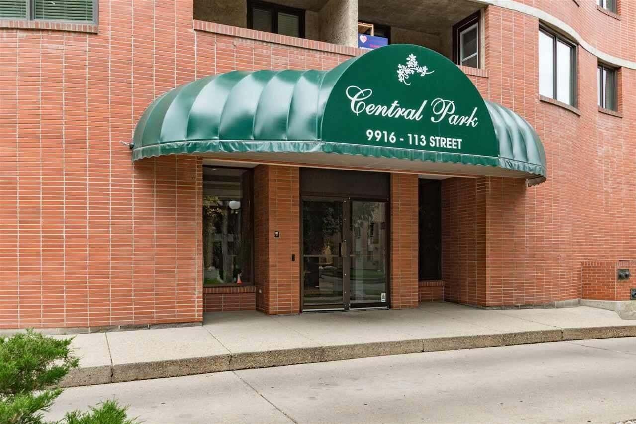 Condo for sale at 9916 113 St NW Unit 1702 Edmonton Alberta - MLS: E4213000