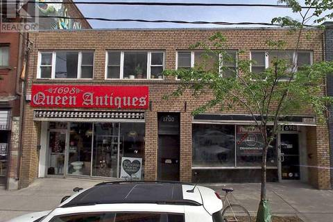 Commercial property for lease at 1702 Queen St Toronto Ontario - MLS: W4584009