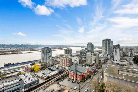Condo for sale at 610 Victoria St Unit 1703 New Westminster British Columbia - MLS: R2420438