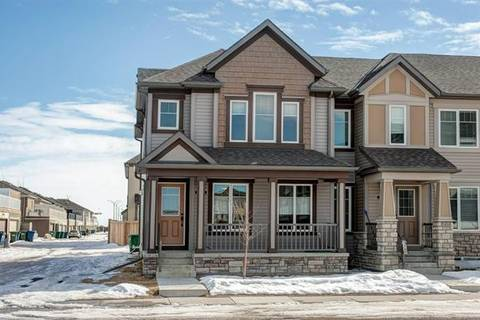 Townhouse for sale at 1703 Windstone Rd Southwest Airdrie Alberta - MLS: C4233844
