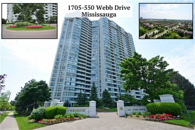Sold: 1705 - 550 Webb Drive, Mississauga, ON