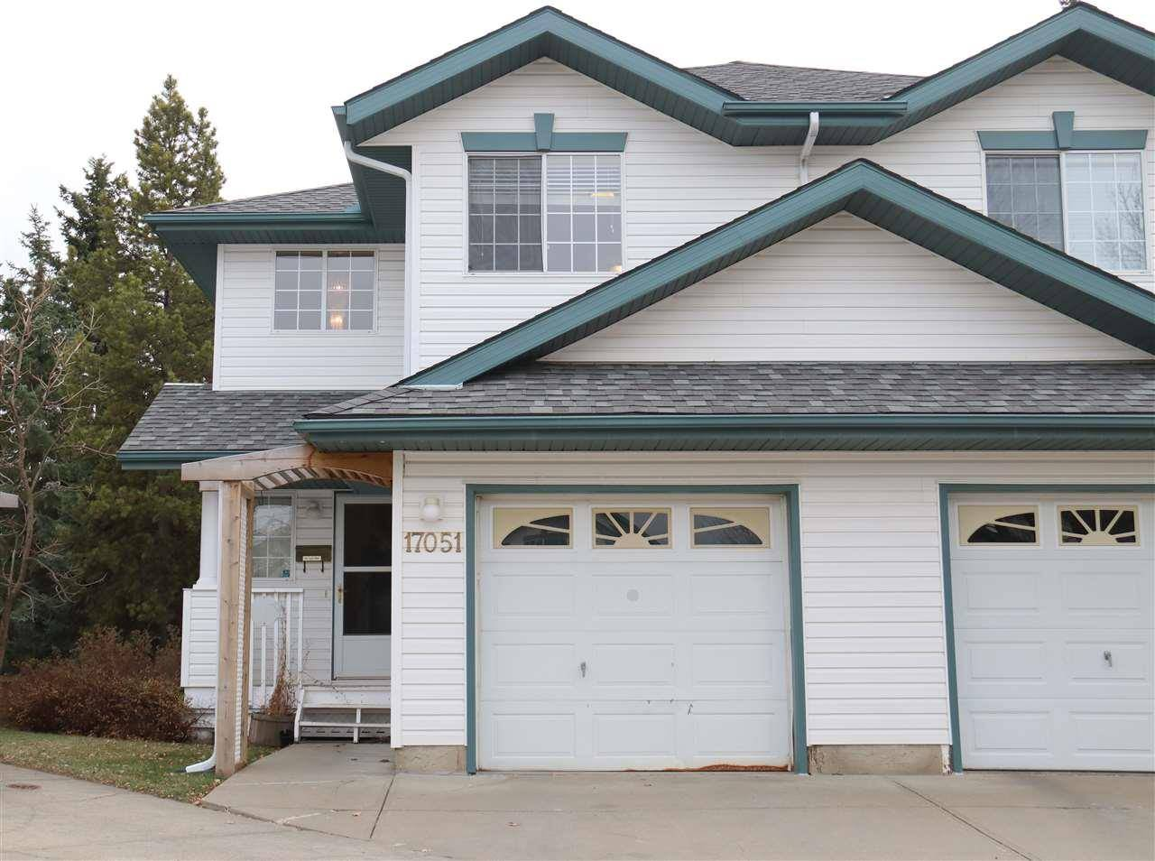 Townhouse for sale at 17051 113 St Nw Edmonton Alberta - MLS: E4174835