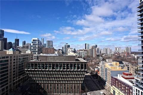 Condo for sale at 159 Dundas St Unit 1707 Toronto Ontario - MLS: C4390291