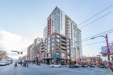 Condo for sale at 188 Keefer St Unit 1709 Vancouver British Columbia - MLS: R2412165