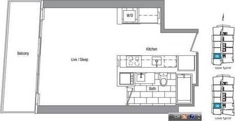 Apartment for rent at 75 Queens Wharf Rd Unit 1709 Toronto Ontario - MLS: C4735678