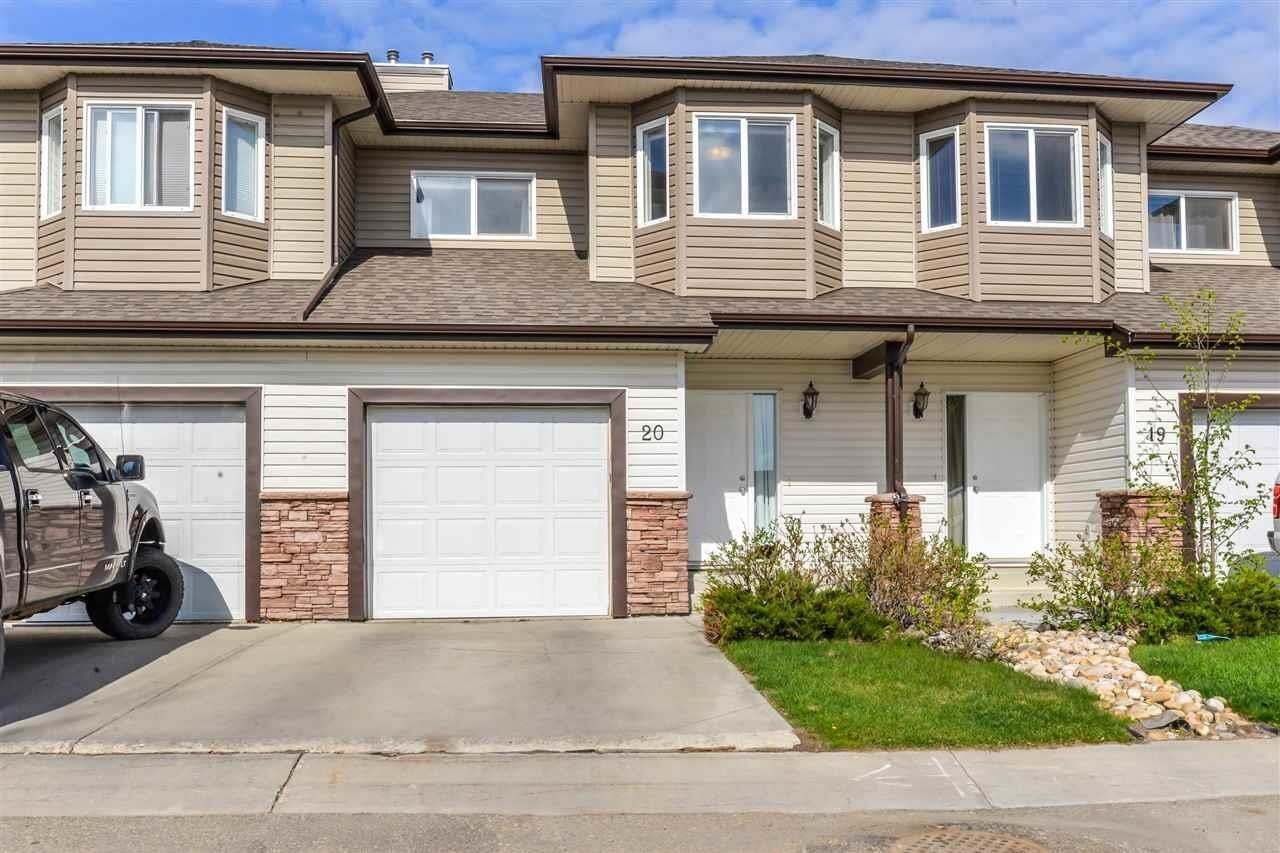 Townhouse for sale at 171 Brintnell Bv NW Edmonton Alberta - MLS: E4197845