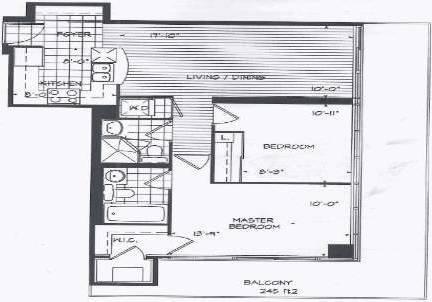 Apartment for rent at 5508 Yonge St Unit 1710 Toronto Ontario - MLS: C4704317