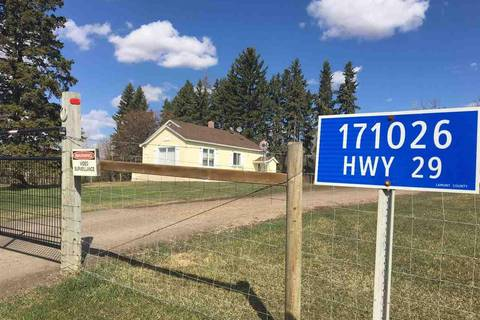 House for sale at  171026 Hy Rural Lamont County Alberta - MLS: E4153939