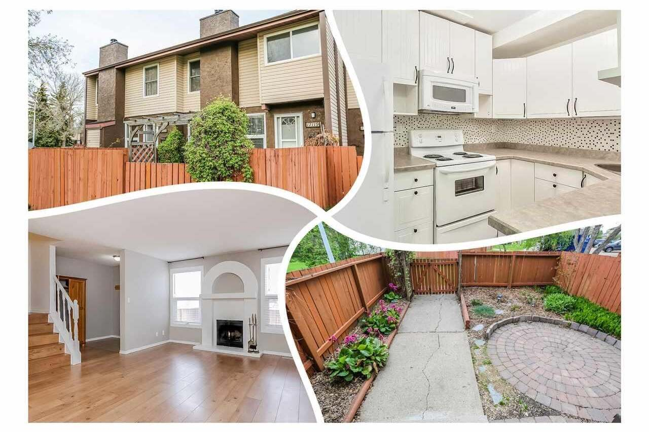 Townhouse for sale at 17119 109 St NW Edmonton Alberta - MLS: E4187007