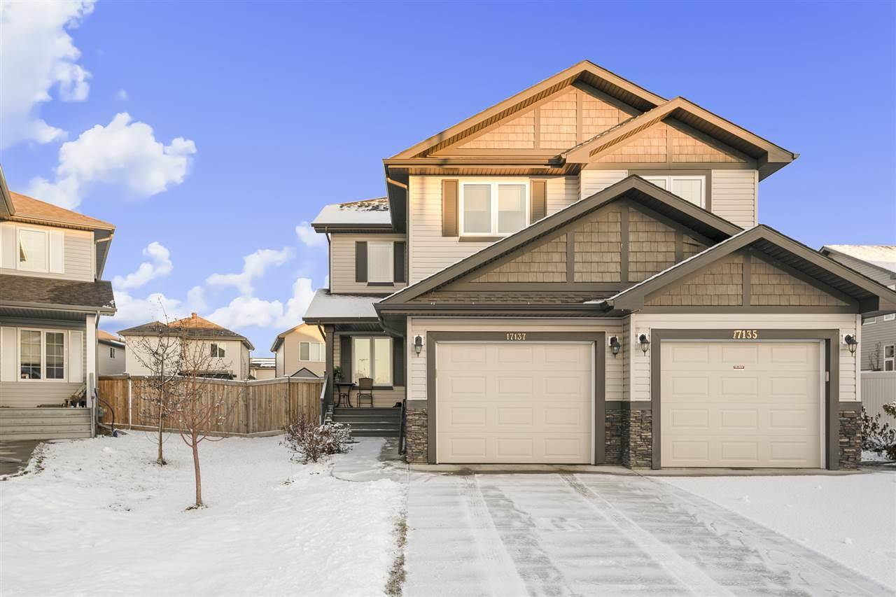 Townhouse for sale at 17137 125 St Nw Edmonton Alberta - MLS: E4181078