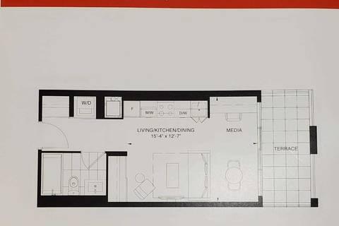 Apartment for rent at 200 Dundas St Unit 1714 Toronto Ontario - MLS: C4729935