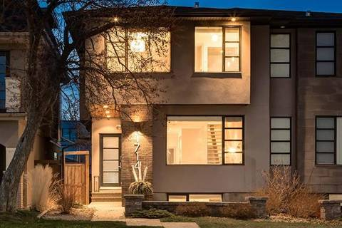 Townhouse for sale at 1714 50 Ave Southwest Calgary Alberta - MLS: C4242066