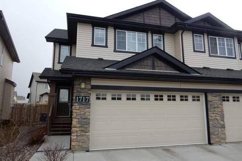 Townhouse for sale at 1717 Cunningham Wy Sw Edmonton Alberta - MLS: E4152044