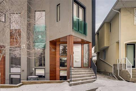 Townhouse for sale at 1718 37 Ave Southwest Calgary Alberta - MLS: C4281469