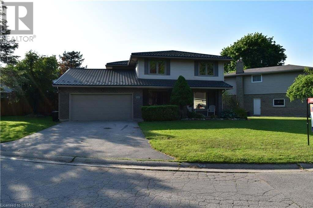 House for rent at 172 Camden Cres London Ontario - MLS: 262603