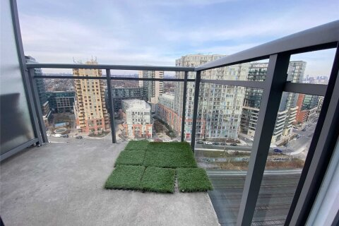 Apartment for rent at 38 Joe Shuster Wy Unit 1721 Toronto Ontario - MLS: C5054625