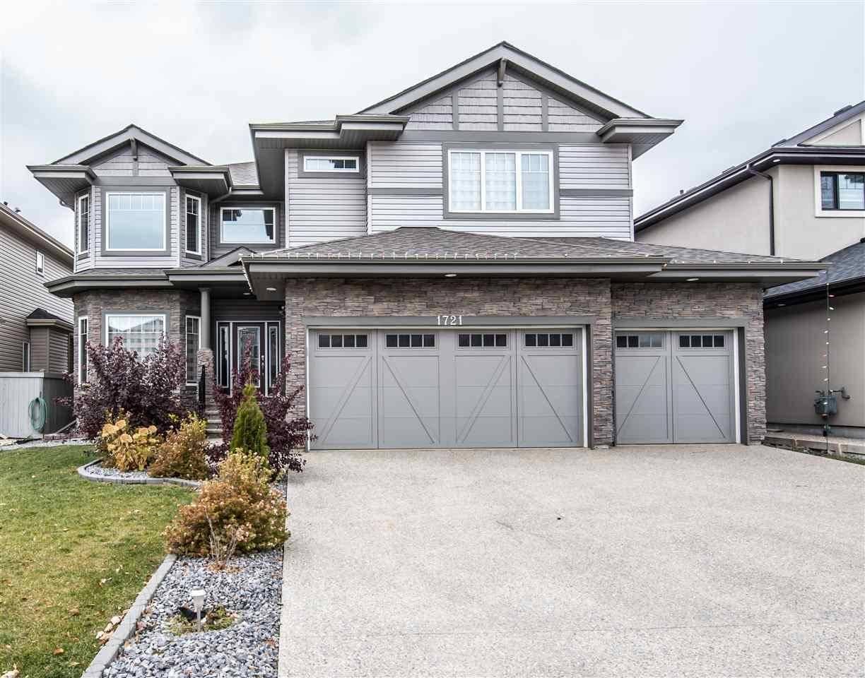 House for sale at 1721 Adamson Cres Sw Edmonton Alberta - MLS: E4132231