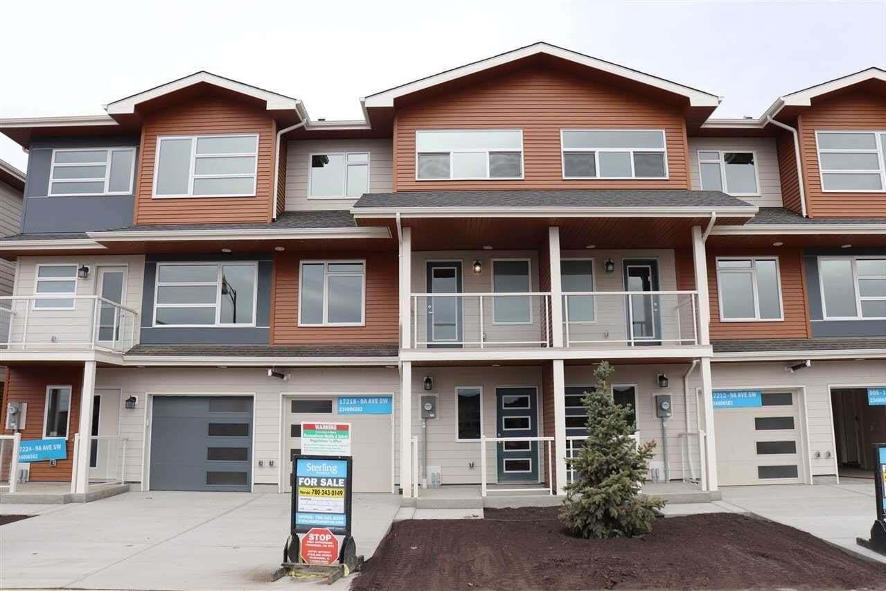 House for sale at 17218 9a Av SW Edmonton Alberta - MLS: E4198884
